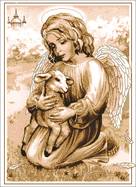 Ангел с козленочком