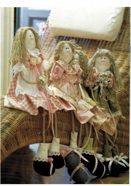 Несложная куколка в прованском стиле
