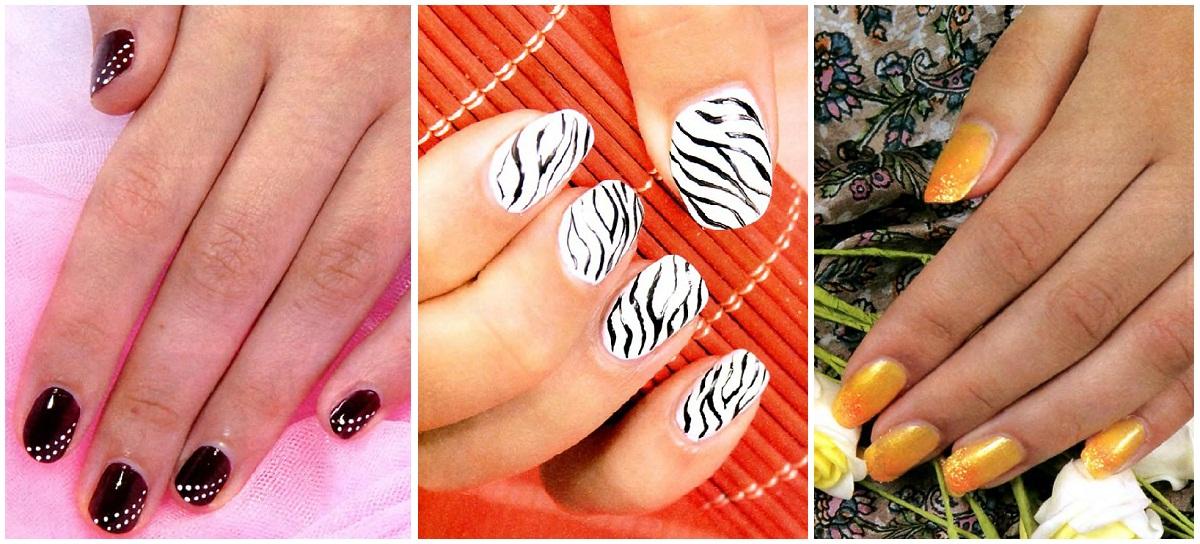 Простые узоры для ваших ногтей