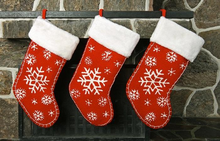 Рождественский носочек