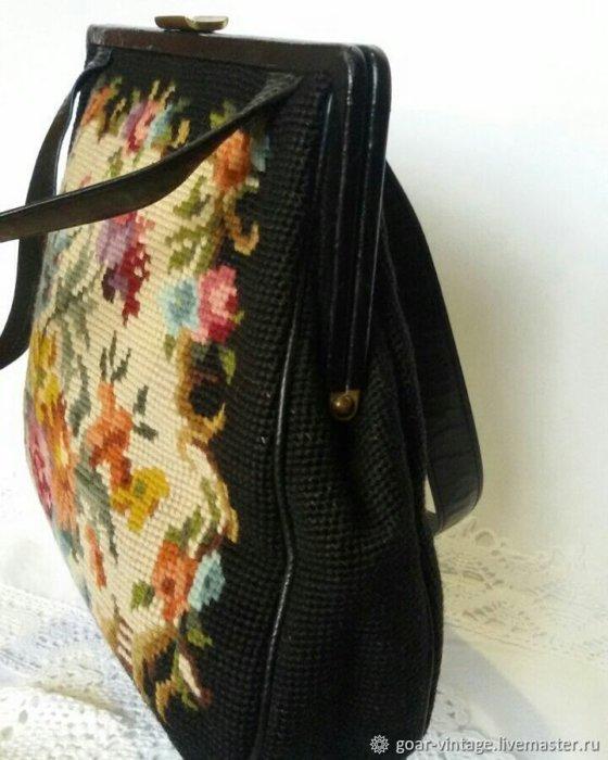 Винтажная сумочка на весну.