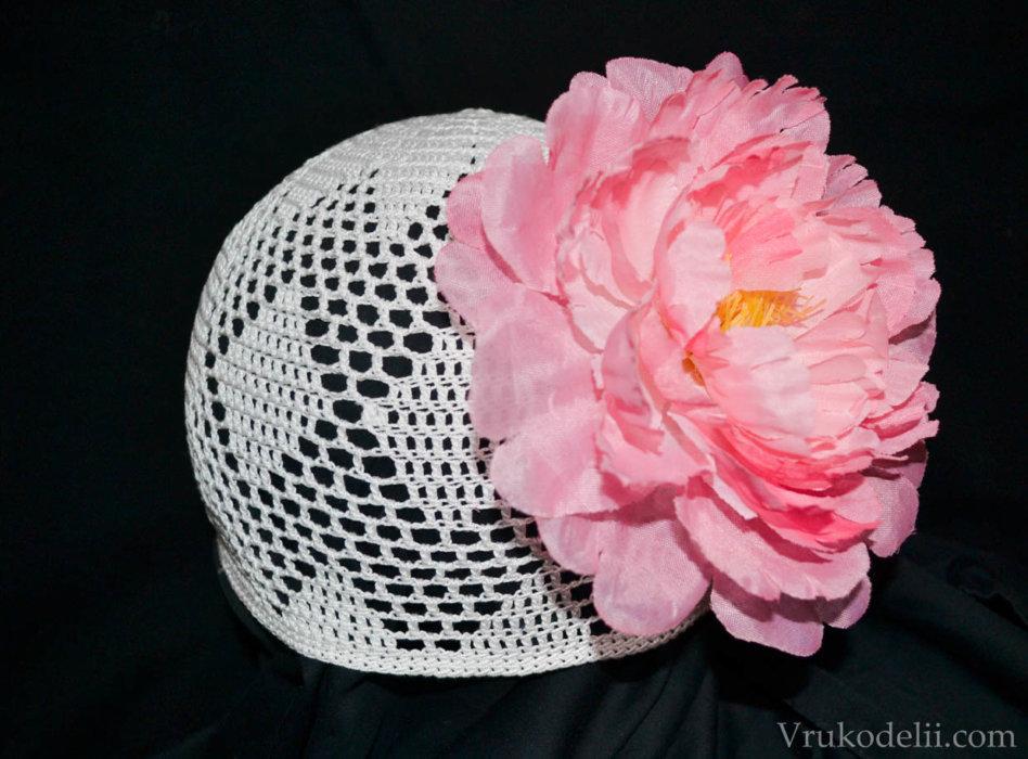 Воздушная шапочка для девчушки