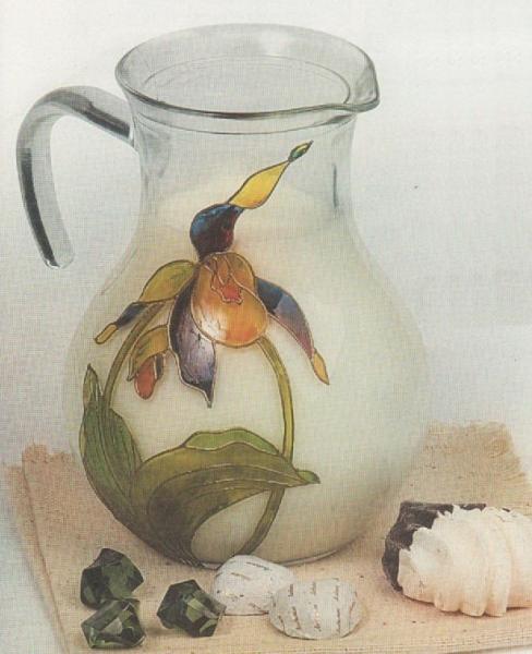 Орхидея (кувшин)