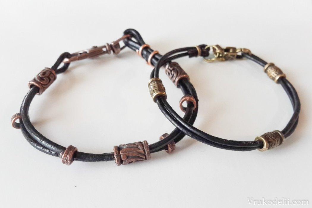 Мастер-класс браслеты «Для двоих…»