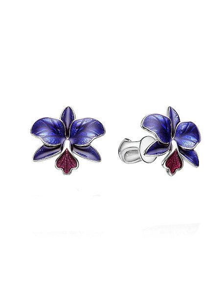 Серьги «Орхидеи»
