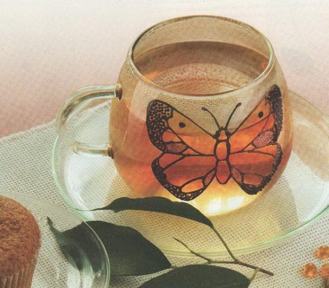Шифроновая бабочка