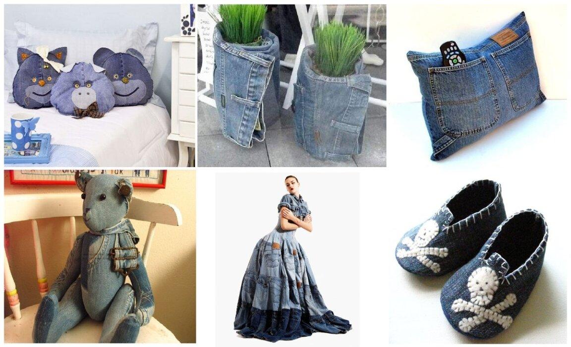 Новая жизнь старых джинсов. Подборка для вдохновения