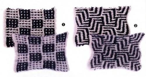 Вязание мозаики