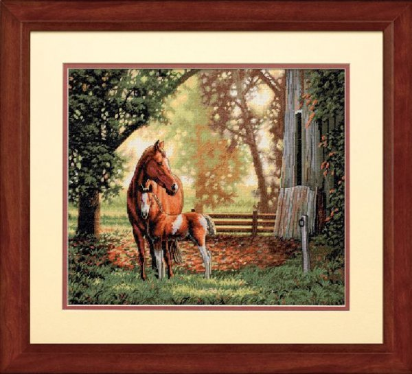 Вышивка «Лошадь»